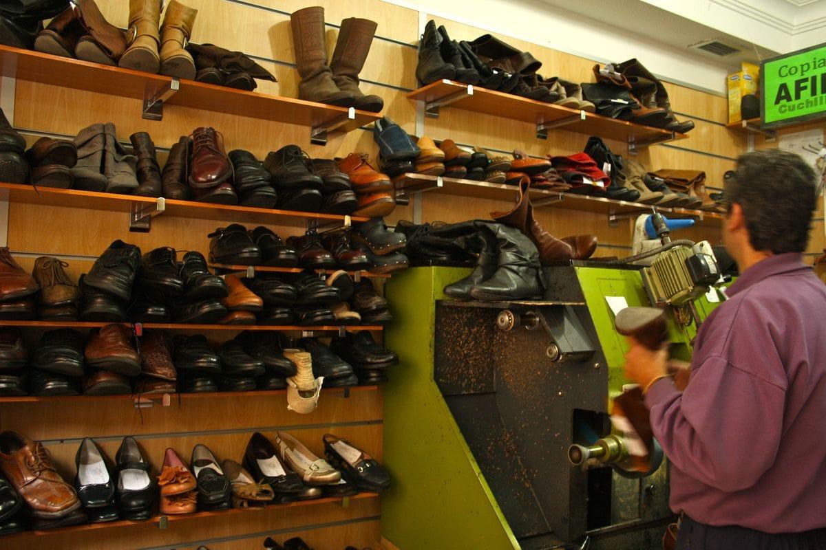 Things At A Shoe Repair Shop