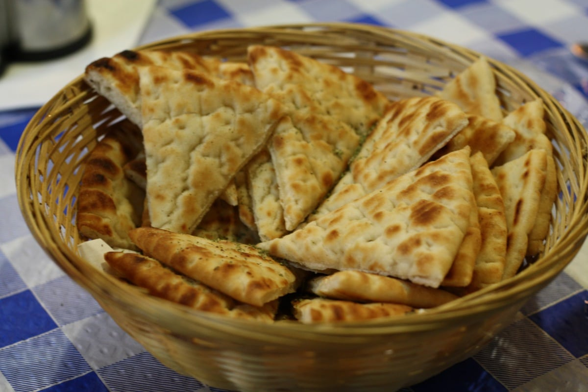 Taberna griega authentic greek food in madrid an insiders spain the enormous appetizer sampler warm greek pitas forumfinder Choice Image